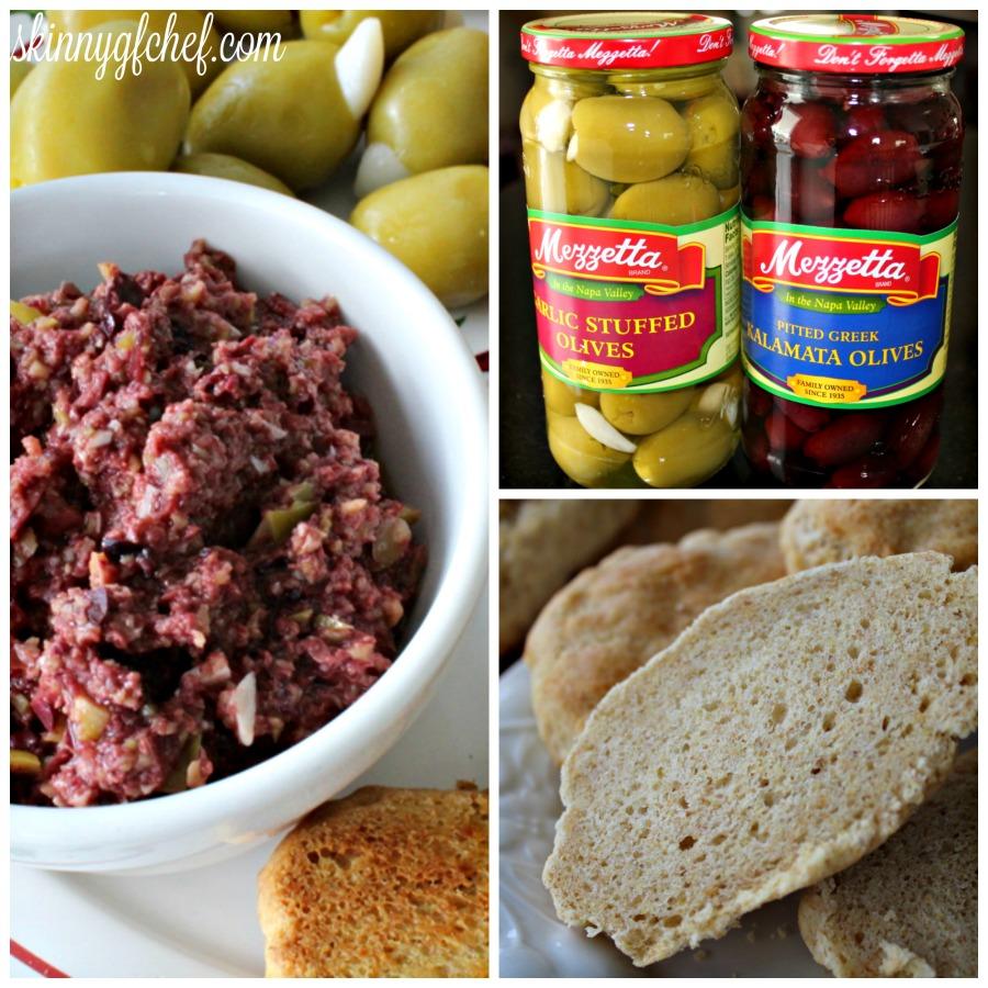20 min. Yeast-Free, Gluten-Free Italian Bread & Easy Mezzetta Olive Tapenade