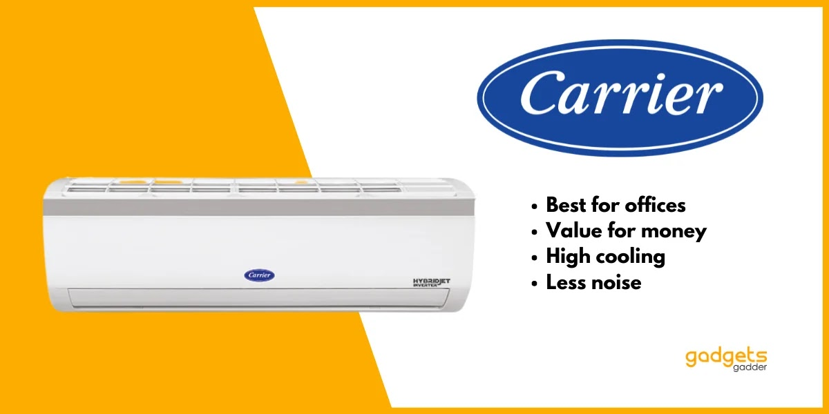 carrier is the best ac brand for office and corporate