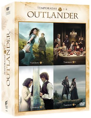 estreno outlander pack serie completa dvd
