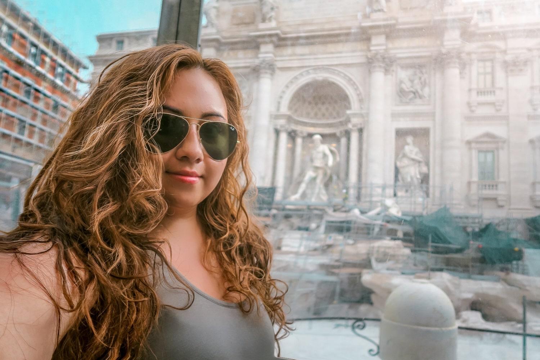 Trevi Fountain, Rome Italy, Latinx Travel, Contiki Europe, WanderlustBeautyDreams