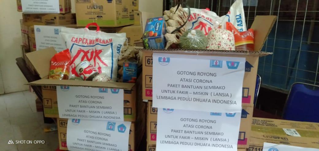 LPD Indonesia Berbagi bersama Dhuafa ditengah Dampak Covid-19