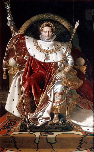 2nd December 1804 - Napoleon Bonaparte crowns himself Emperor of the French