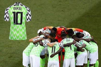 Mikel Obi's Shirt During Win Against Iceland Has Been Added To Fifa Museum
