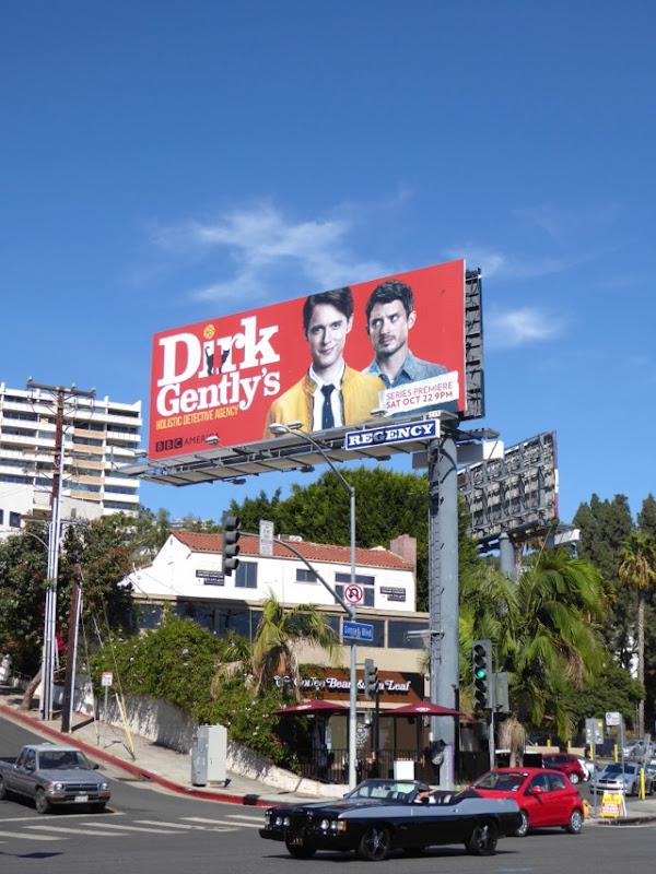Dirk Gentlys Holistic Detective Agency billboard