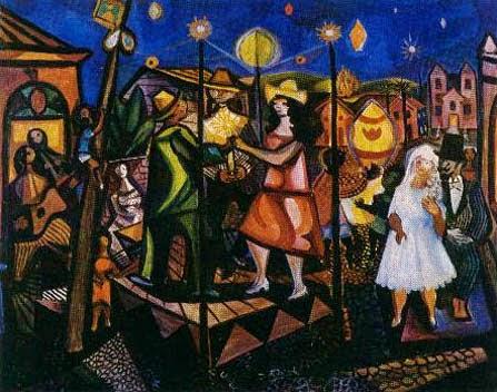São João - Di Cavalcante e suas principais pinturas ~ Pintando a realidade brasileira