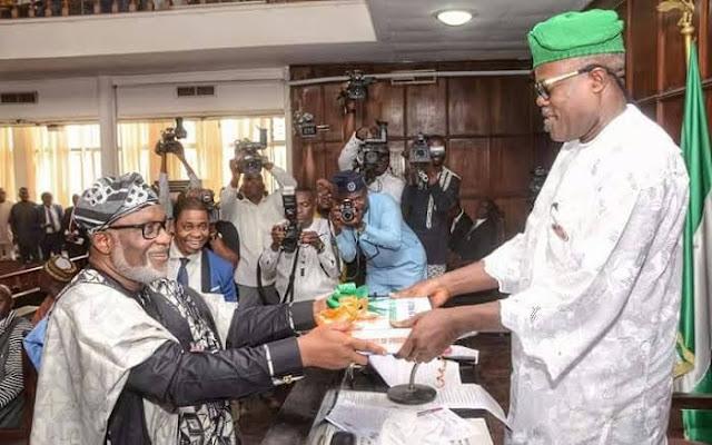 "Governor Akeredolu Presents N177 Billion ""Budget Of Growth"" For 2020"