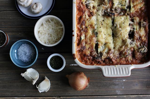 lasagna dish