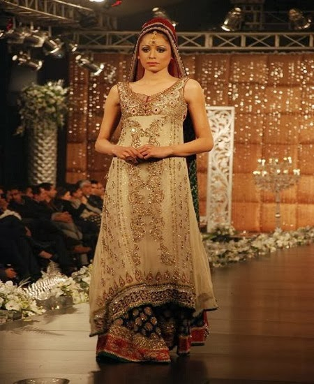 Latest Wedding Gowns 2014: Most Beautiful Latest Bridal Dresses 2014