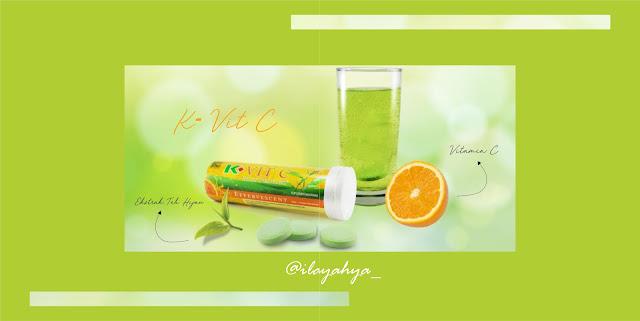 K-Vit C Plus Teavigo, Multivitaminnya Youth Jaman Now