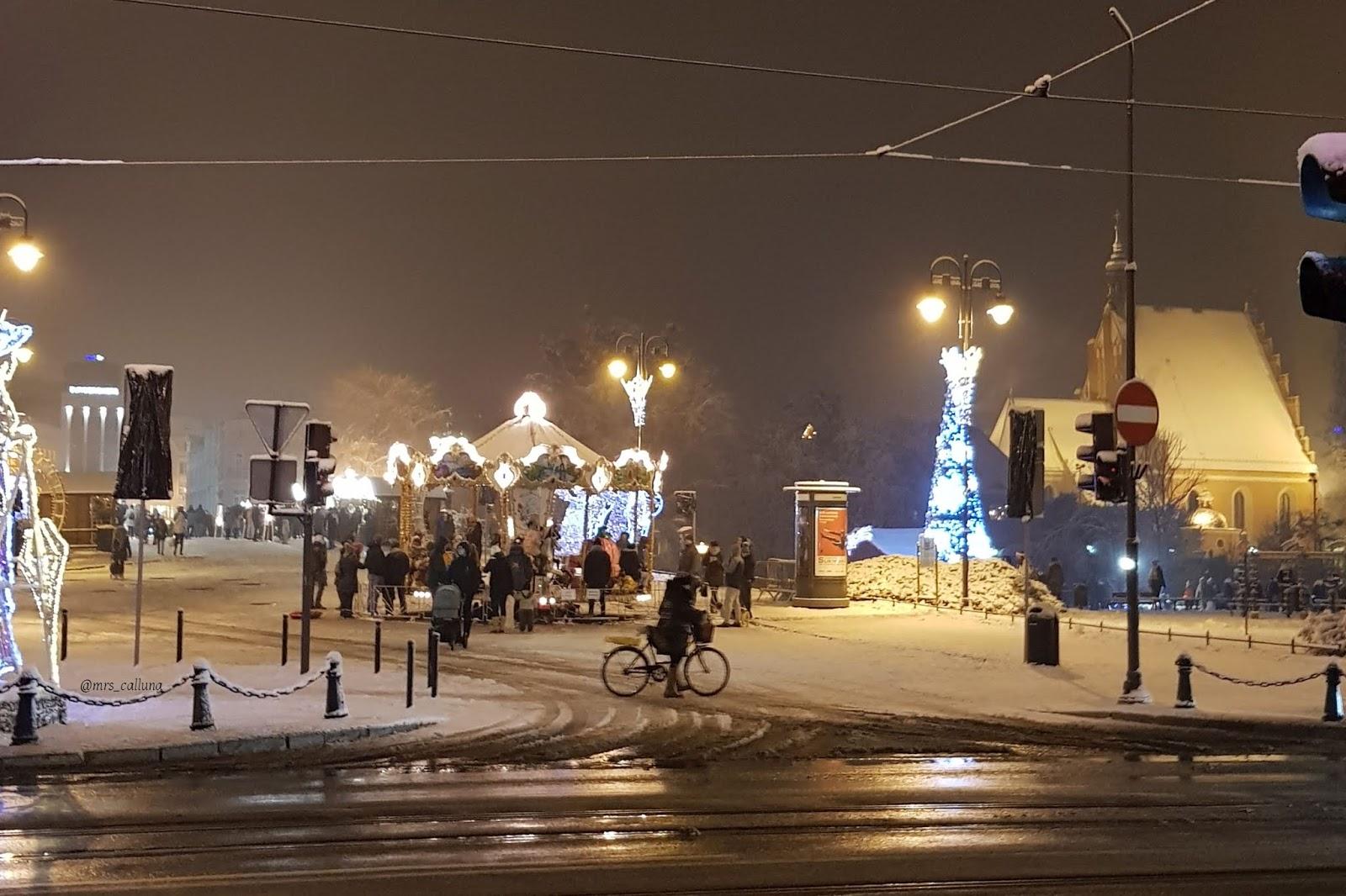 Bydgoszcz zimą