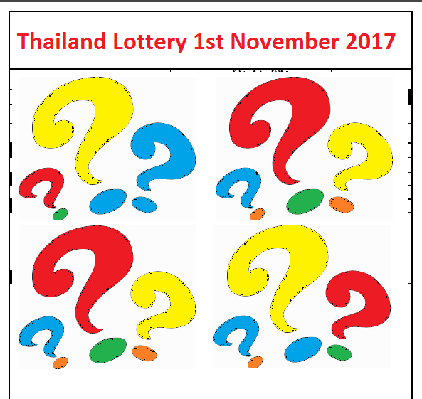 thailand lottery 1st november 2017