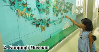 Kunjungi Museum merupakan salah satu cara menanamkan jiwa nasionalisme pada anak sejak dini