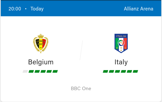 Belgium vs Italy Football Preview and Predictions 2021