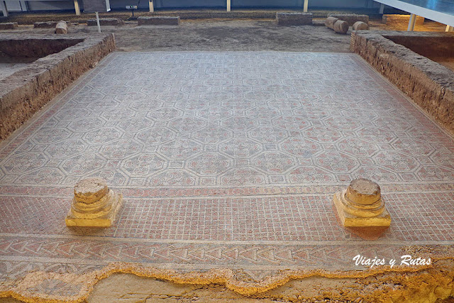 Villa romana de la Olmeda, Palencia