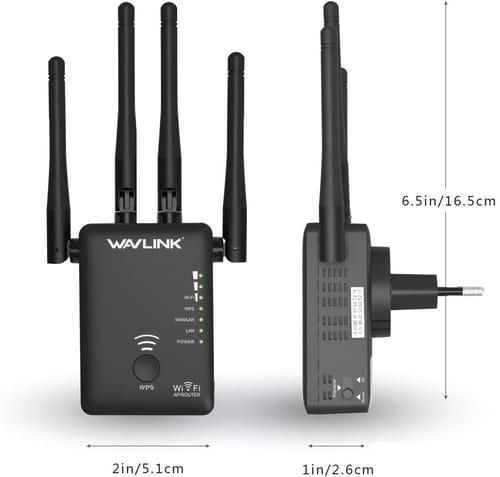 WAVLINK AC1200 WiFi Range Extender Repeater