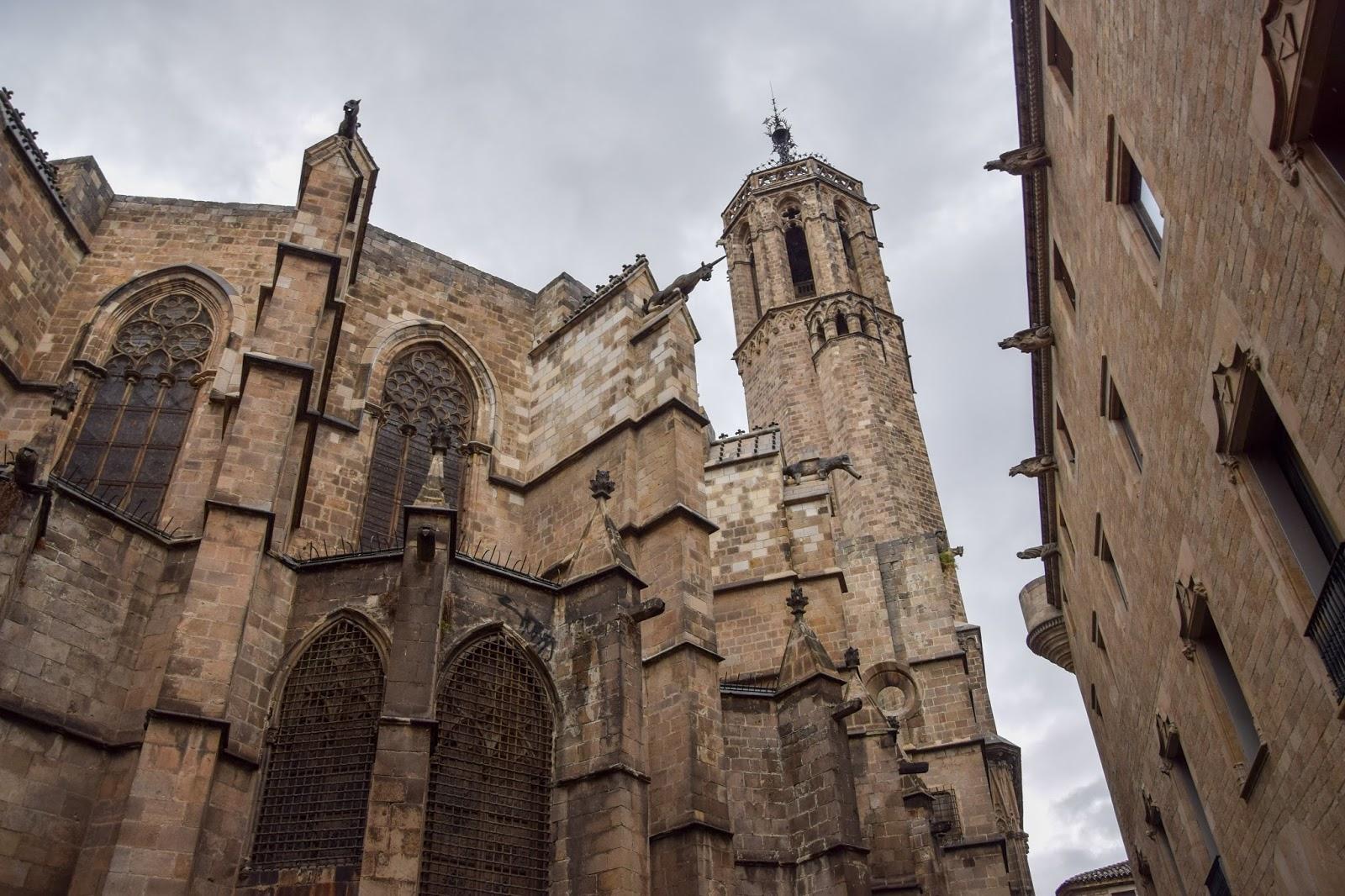 Barcelona Eulalia katedra