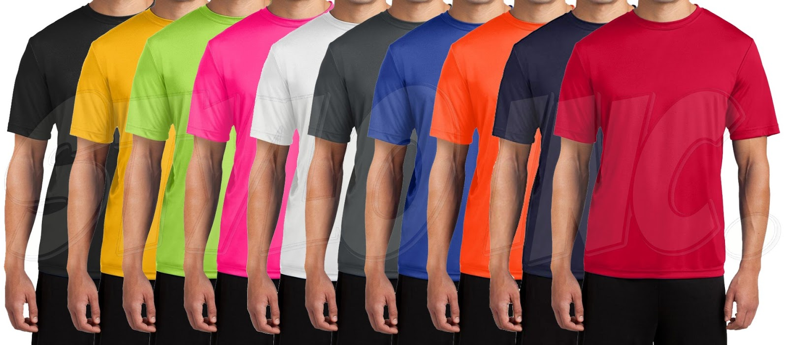 Dri-Fit T-Shirts 6pcs Bundle