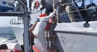 Rescatan a 23 inmigrantes dominicanos varados en estrecho puertorriqueño