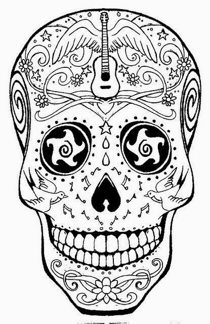 Tattoos Book: +2510 FREE Printable Tattoo Stencils: Skulls