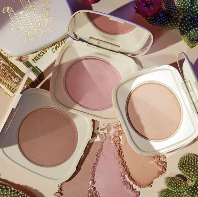 ColourPop Wild Nothing Collection blushes