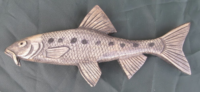деревянные рыбы России - пескарь