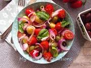 Салата Пантеска - вкусна салата с картофи и домати от Сицилия * Insalata Pantesca