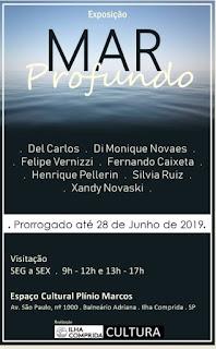 """Cultura da Ilha prorroga exposição de arte contemporânea """"Mar Profundo"""""""