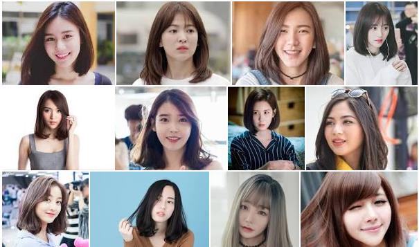 60 Model Rambut Sebahu Trend 2020 Untuk Wajah Bulat