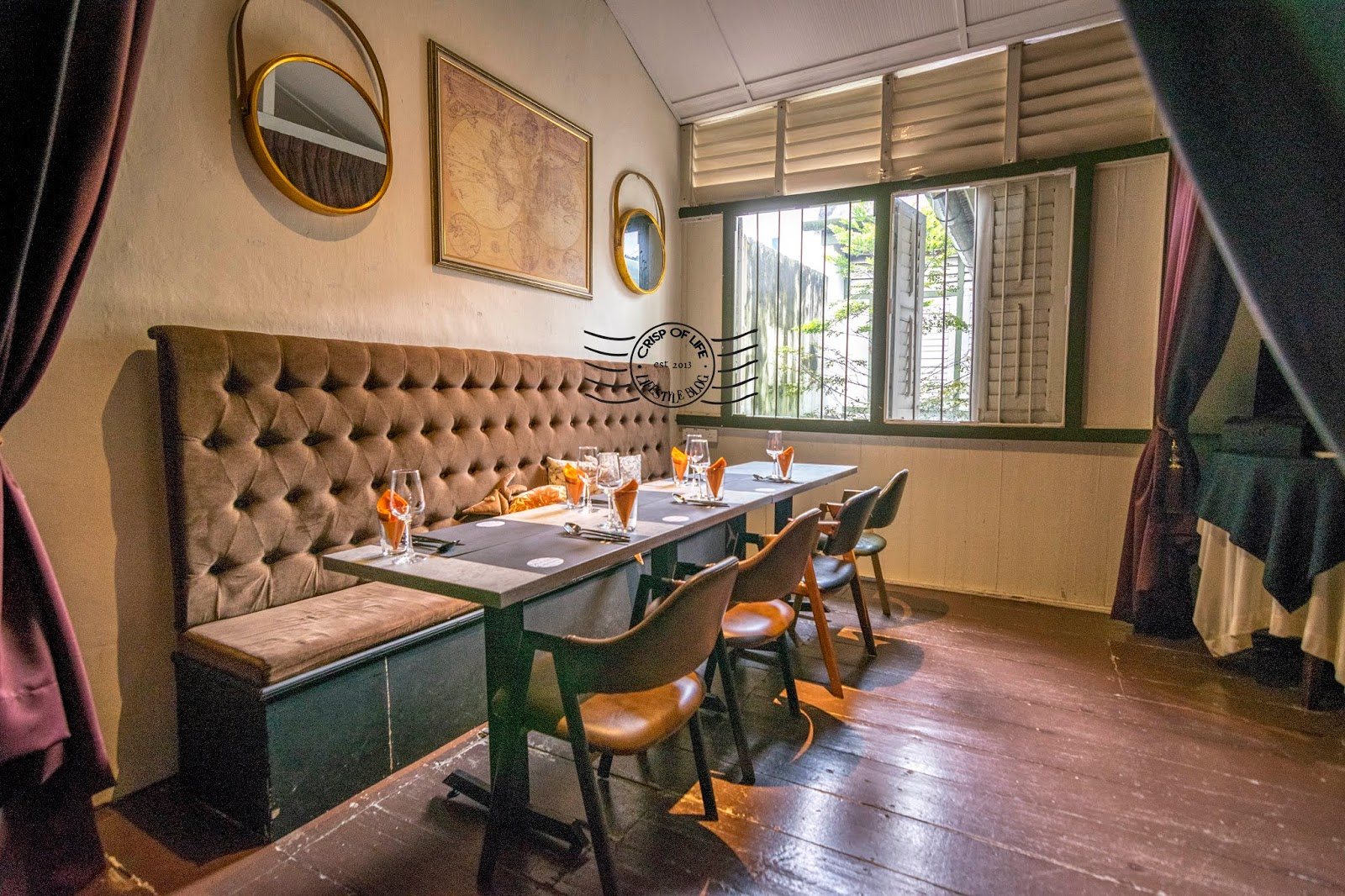 De Secret Kitchen Private Dining at Macalister Road, Georgetown Penang