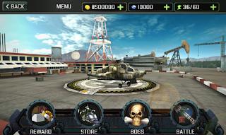 Gunship Strike 3D Mod Apk Unlocked all item