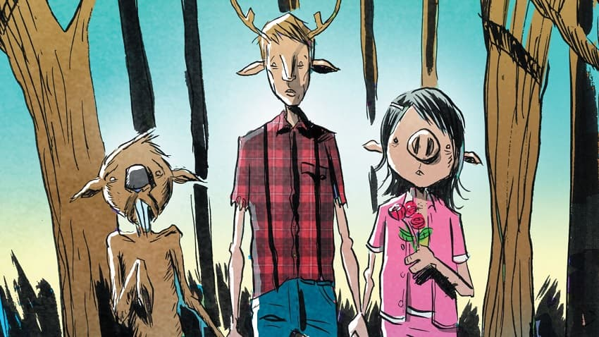 Netflix снимет сериал «Сладкоежка» по комиксу Джеффа Лемира и Vertigo