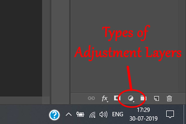Adjustment Layers in photoshop