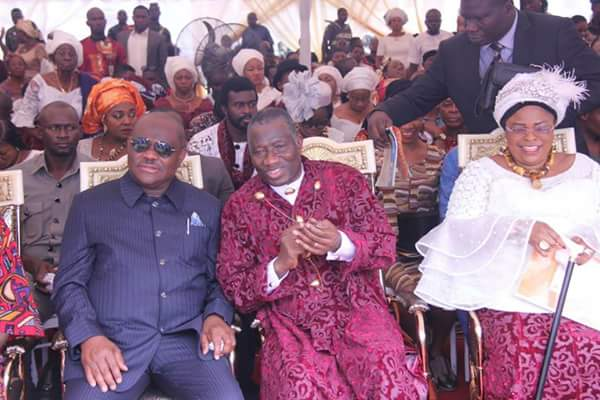 Governor Wike of Rivers State Partners with Patience Jonathan To Bury Her Late Brother, Lazarus Iwari Kalama-Sokobe