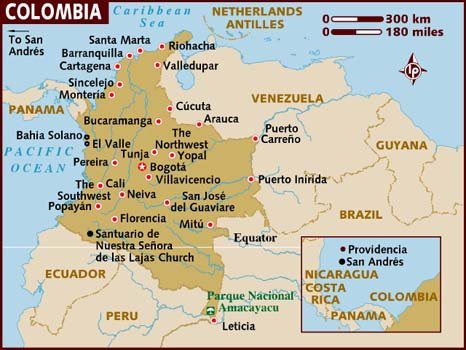 Colombia Facts In Hindi