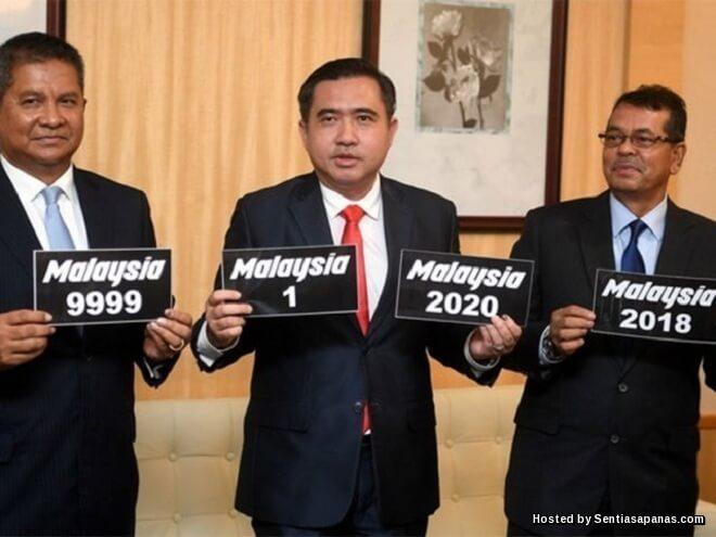 Nombor Plat 'Malaysia 1-9999'