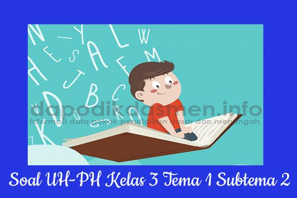 Soal UH PH Kelas 3 Tema 1 Subtema 2 Kurikulum 2013