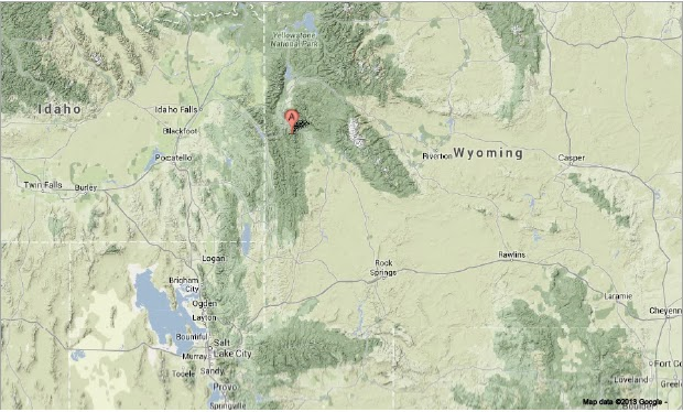 Lincoln County Wyoming Map.Sciency Thoughts Magnitude 4 2 Earthquake In Lincoln County Wyoming