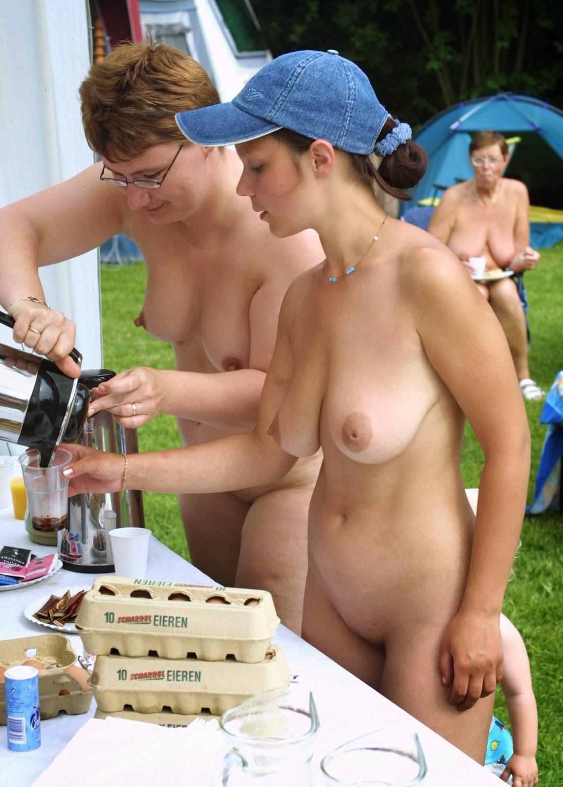 naturist family camp