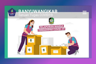 Link Resmi Untuk Lapor Bansos Online Banyuwangi di https://corona.banyuwangikab.go.id/bansos/formulir