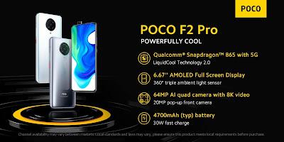 POCO F2 Pro เปิดตัวในไทย: มาเพื่อพิชิตรุ่นเรือธง สมาร์ทโฟนในดวงใจ กลับมาอีกครั้งกับสุดยอดประสบการณ์ที่ดีที่สุด