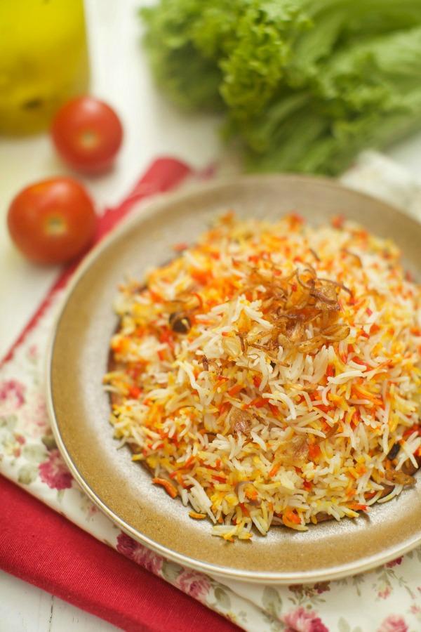 masam manis: Nasi Minyak