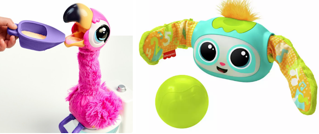 Little Live Pets 'Gotta Go Flamingo and Fisher Price Rovee