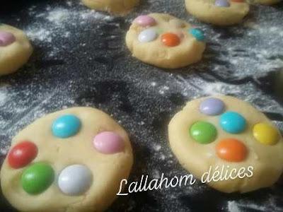 كوكيز بالسمارتيز ولا أسهل Cookies aux Smartises