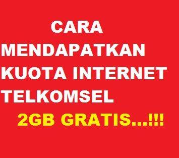 Paket Internet Telkomsel Gratis Kuota 2gb Terbaru Cara Cek Sisa Paket