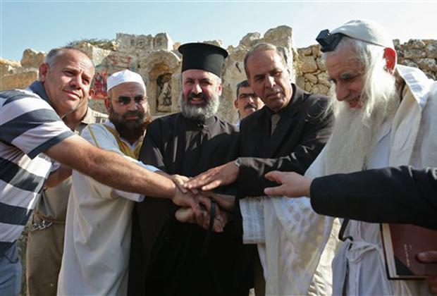 Judeus, muçulmanos e cristãos se unem pela paz no Oriente Médio