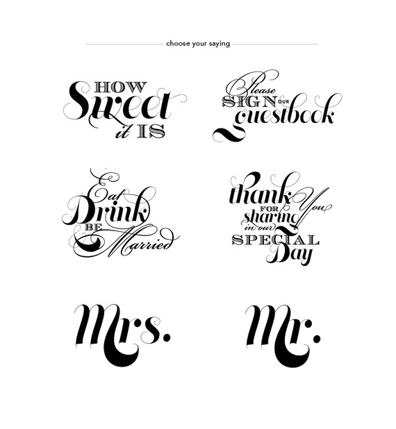 Sayings And Quotes Sign: Simply Pretty Wedding: Signs And Sayings
