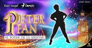 PETER PAN y el poder de la amistad  Teatro Santa Fe Bogota
