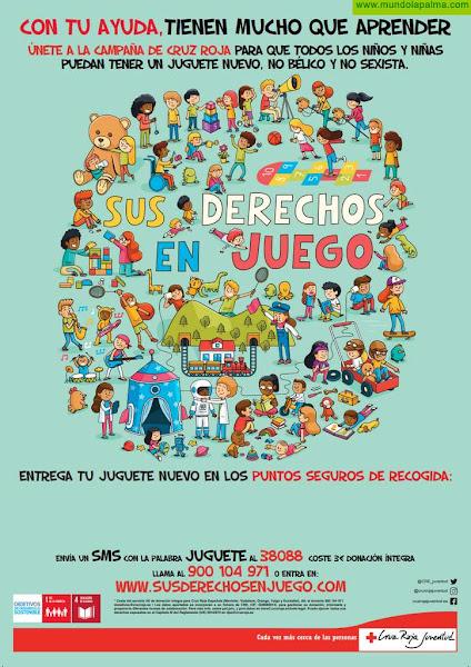 Cruz Roja Juventud necesita juguetes para más de 3.300 niños y niñas de toda Canarias
