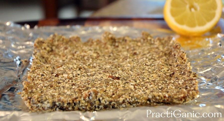 Lemon Chia Granola Bars Practiganic Vegetarian Recipes