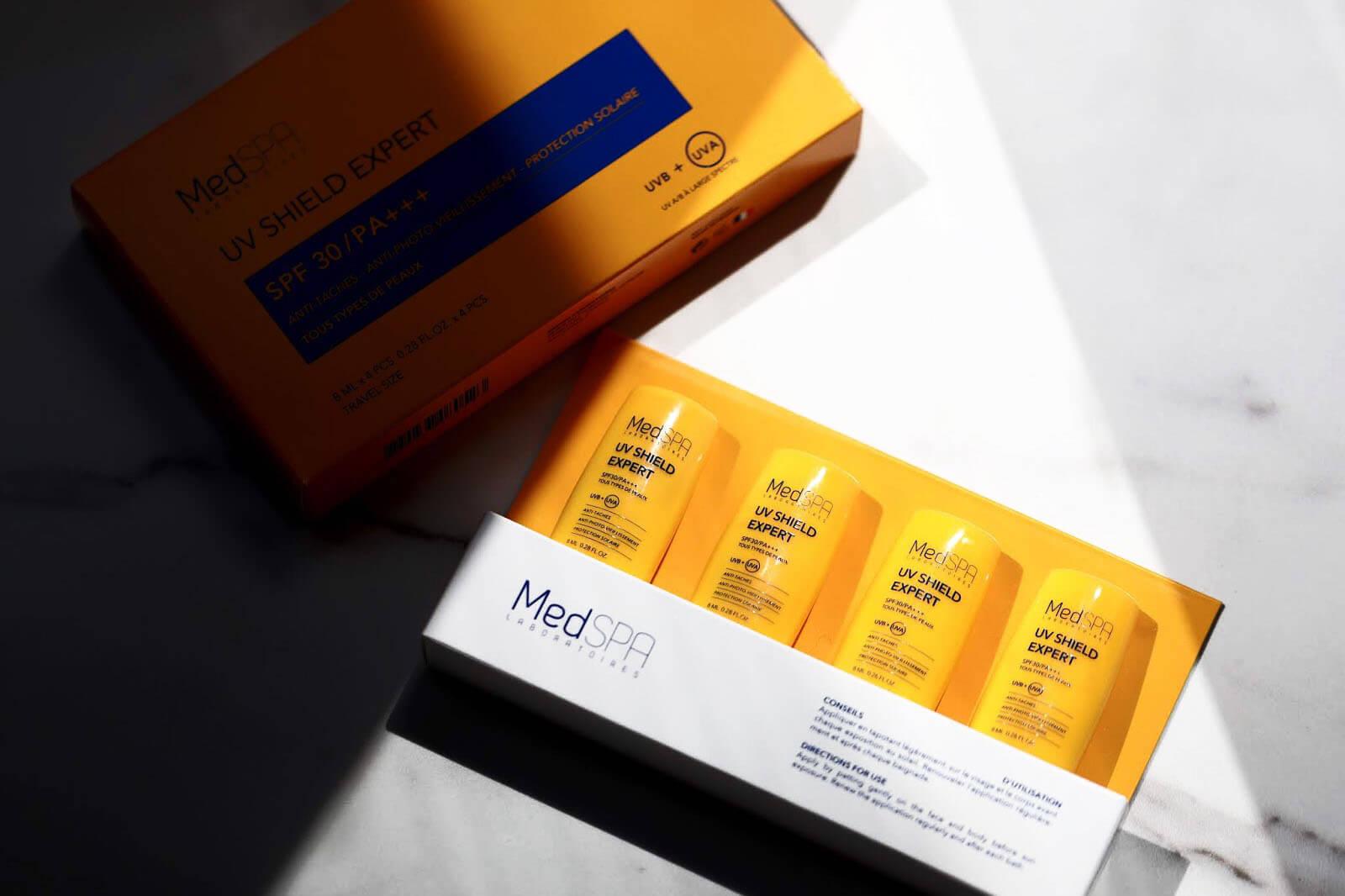MedSpa UV Shield Expert Solaire avis